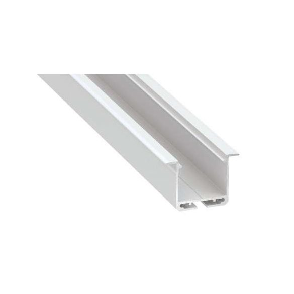 Led Alumínium Profil INDILEDA 1 méter Fehér