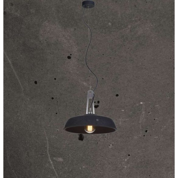 INDUSTRIOLA Beton Lámpa Antracit