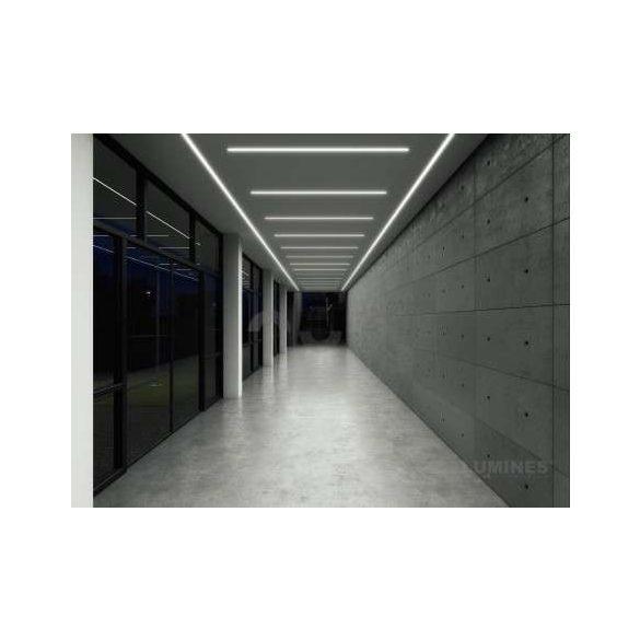 LED Alumínium Profil INSILEDA Ezüst 1 méter