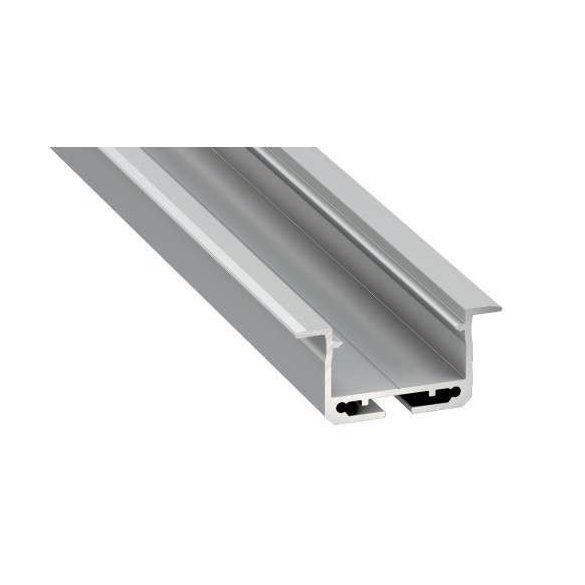 LED Alumínium Profil INSILEDA Ezüst 2 méter