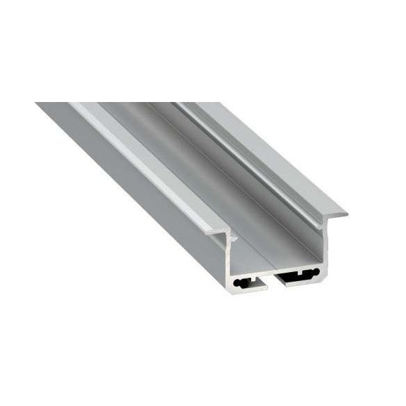 Led Alumínium Profil INSILEDA 2 méter Ezüst