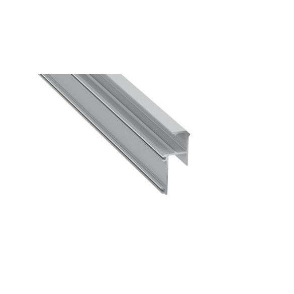 Led Alumínium Profil IPA12 2 méter Ezüst