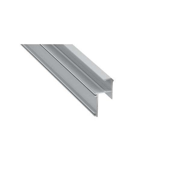 Led Alumínium Profil IPA16 1 méter Ezüst