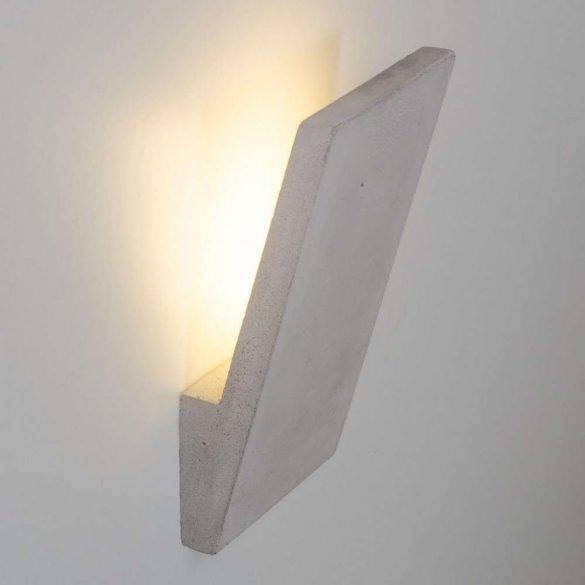 IRMA Fali Beton Lámpa Szürke