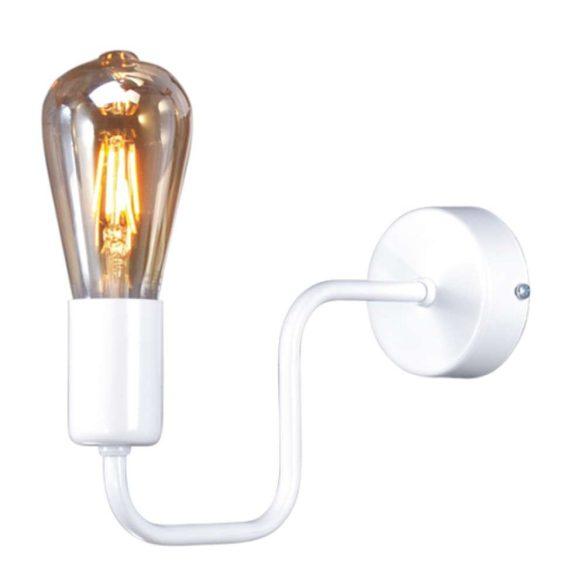 KAJA PEKA fehér színű fali lámpa