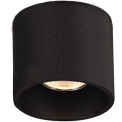 KAJA ALU BLACK A-1 fekete színű mennyezeti lámpa