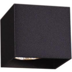 KAJA KUBIK BLACK A-1 fekete színű mennyezeti lámpa