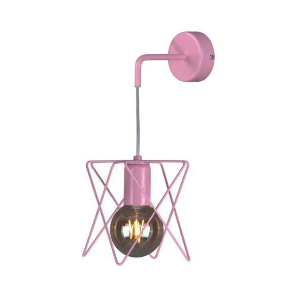 KAJA LAGOS PINK rózsaszín fali lámpa
