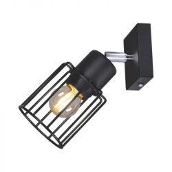 KAJA TROY BLACK A-1 fekete színű fali lámpa