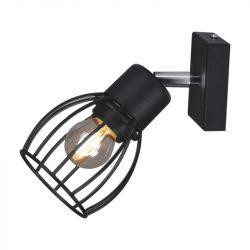 KAJA MIKA BLACK A-1 fekete színű fali lámpa