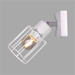 KAJA TROY WHITE A-1 fehér színű fali lámpa