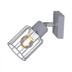 KAJA TROY GRAY A-1 szürke színű fali lámpa