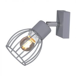 KAJA MIKA GRAY A-1 szürke színű fali lámpa