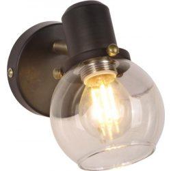 KAJA DEFIS A-1 fekete-arany színű fali lámpa
