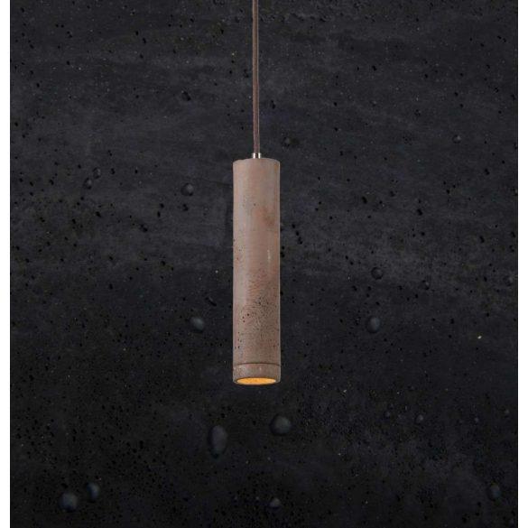 KALLA 21 Beton Lámpa Fekete