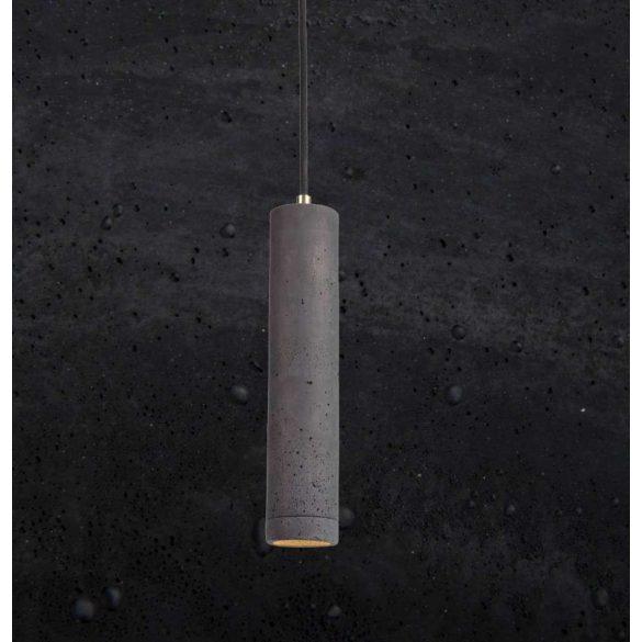 KALLA 31 Beton Lámpa Fekete