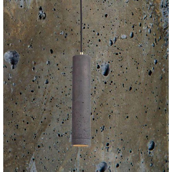 KALLA 31 Beton Lámpa Olívazöld