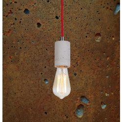 KALLA Beton Lámpa Rozsdás-szürke