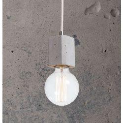 KALLA QUADRO Beton Lámpa Szürke