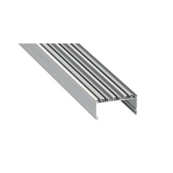 LED Alumínium Profil LARGO Ezüst 1 méter