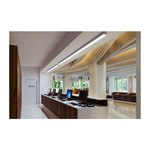 LED Alumínium Profil LARGO Fehér 1 méter