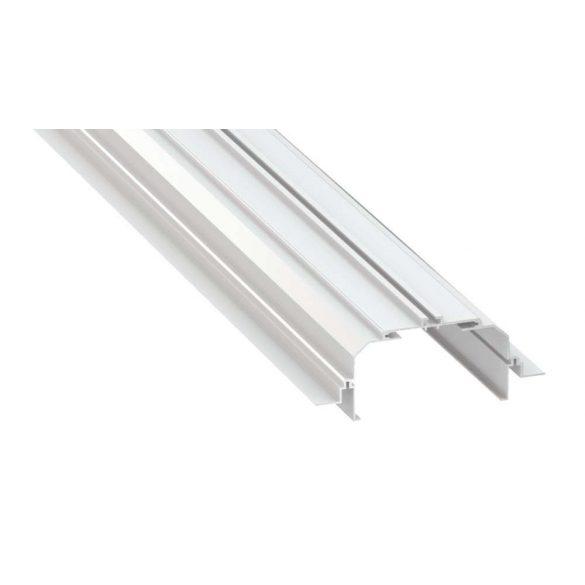 Tartó Profil LARGO M4 Fehér 2 méter