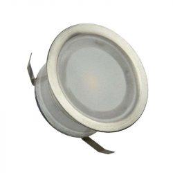 NEDES kültéri padlóvilágítás kerek 0,4W meleg fehér IP67 FL104