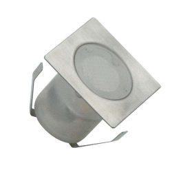 NEDES kültéri padlóvilágítás négyszögletű 0,6W természetes fehér IP67 FL113
