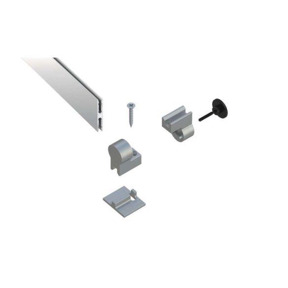 LUMINES 1 karos csuklós szett Led alumínium profilokhoz