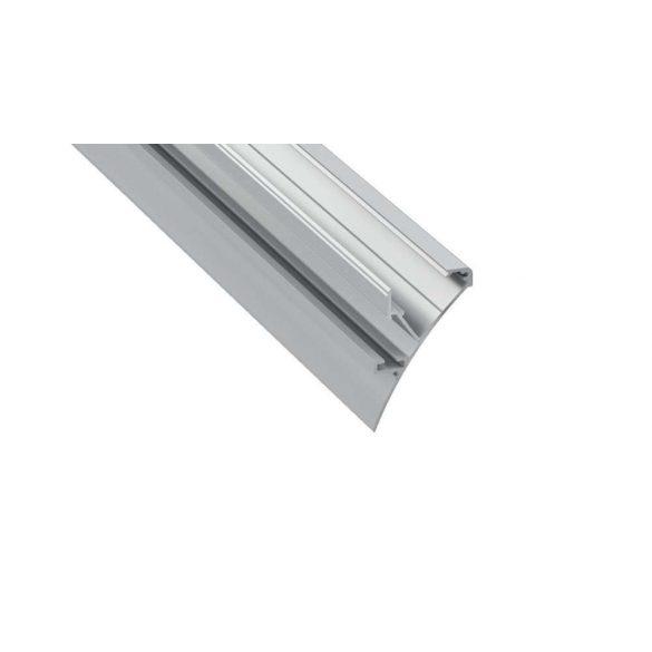 LED Alumínium Profil LOGI Ezüst 1 méter