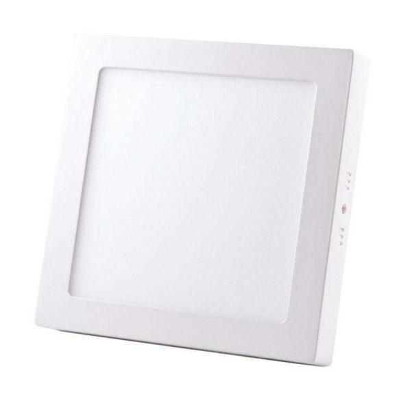NEDES LEDES lámpa négyszögletes 18W természetes fehér - külső táppal
