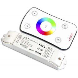 LTECH RGB led szalag vezérlő Érintős 108W/216W (12V / 24V)