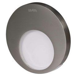 ZAMEL LEDES Kültéri Lépcső lámpa MUNA 14V Inox keret Hideg fehér