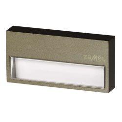 Zamel LEDES Beltéri Lépcső és Oldalfali lámpa SONA 14V Bronz keret nélküli Meleg fehér
