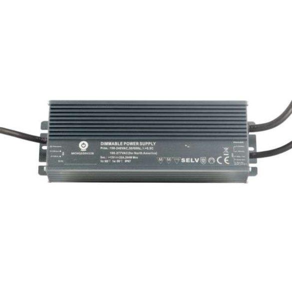 POS Led tápegység MCHQB-320-36 320.4W 36V 8.9A IP67 dimmelhető
