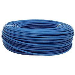 MCu 2,5mm2 tömör réz erű vezeték kék szín PVC szigeteléssel. H07V-U 2,5