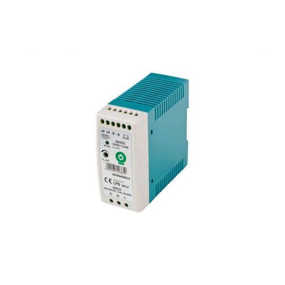 POS Led tápegység MDIN-40-12 40W 12V 3.33A