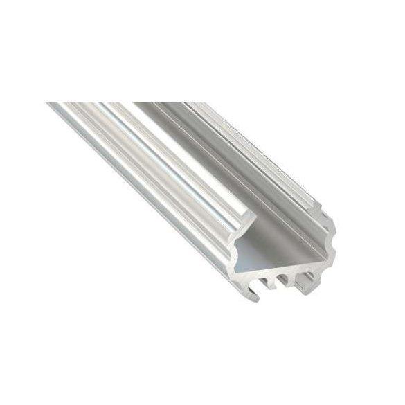 LED Alumínium Profil MICO Ezüst 1 méter
