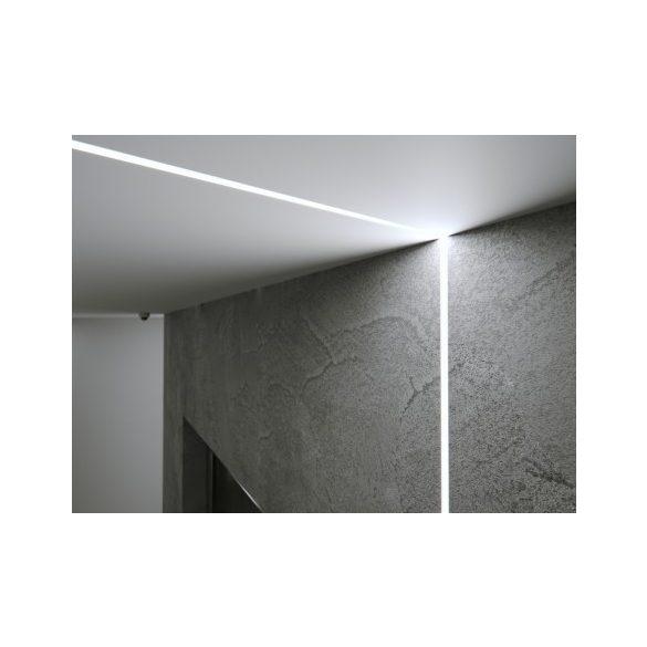 LED Alumínium Profil MONO Ezüst 1 méter