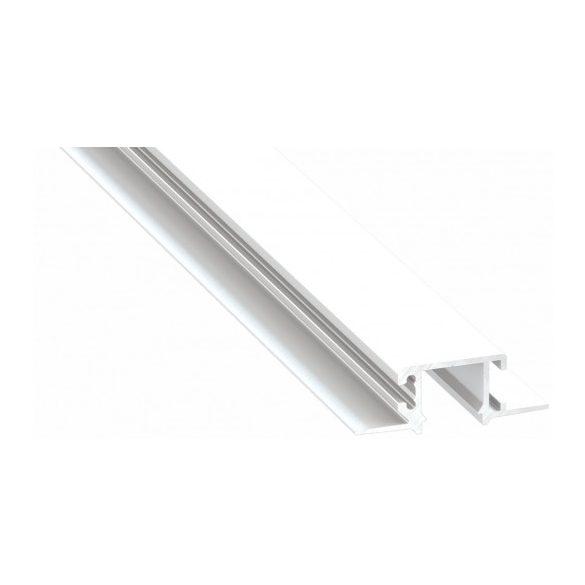 LED Alumínium Profil MONO Fehér 1 méter