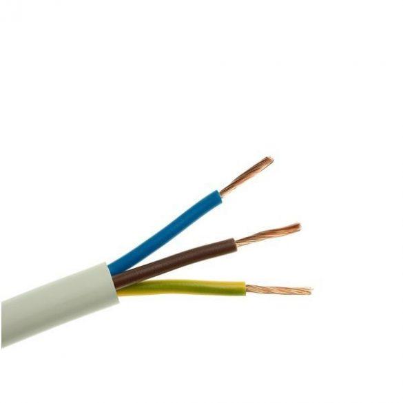MT 3x1 mm2 sodrott réz erű kábel, PVC szigeteléssel. H05VV-F 3x1