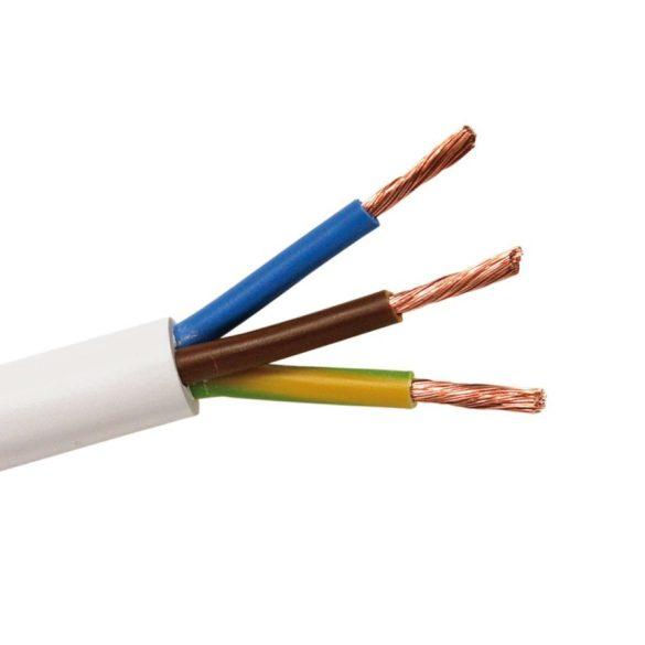 MT 3x1,5mm2 sodrott réz erű kábel, PVC szigeteléssel. H05VV-F 3x1,5