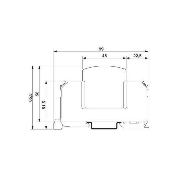 Phoenix Contact VAL-MS 1000DC-PV/2+V