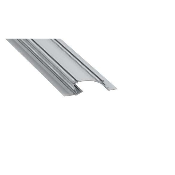 Led Alumínium Profil PERO 2 méter Ezüst