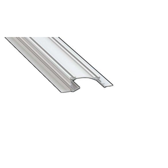 LED Alumínium Profil PERO Fehér 2 méter