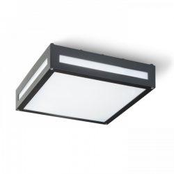 RENDL PLAKA mennyezeti lámpa fekete 2x E27 IP54