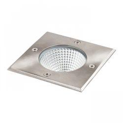 RENDL RIZZ SQ 125 földbe süllyeszthető lámpa rozsdamentes acél LED 7W 41° IP67 3000K