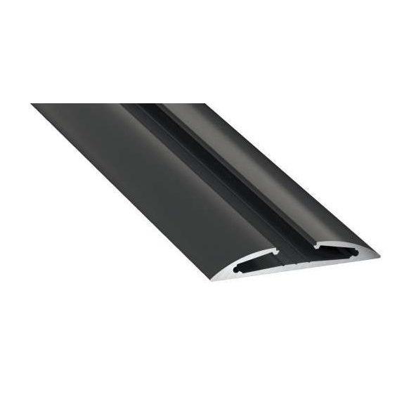Led Profil RETO típus 1 méter Fekete
