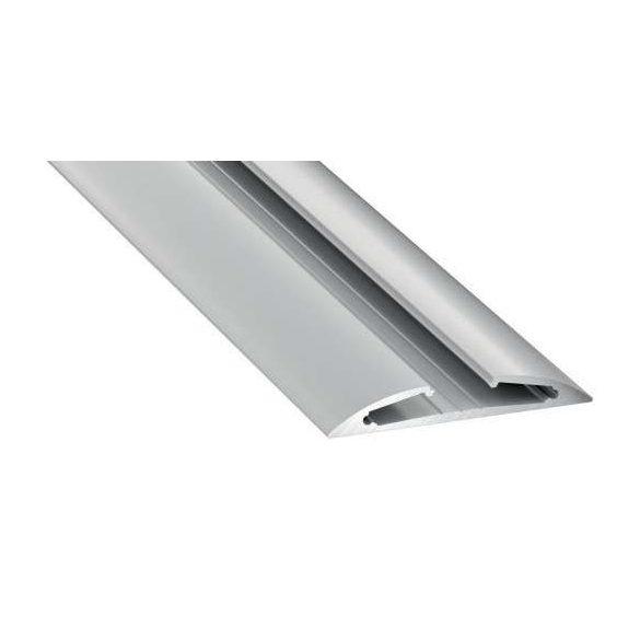 LED Alumínium Profil RETO Ezüst 2 méter