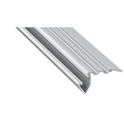 LED Alumínium Lépcső Profil SCALA Ezüst 3 méter